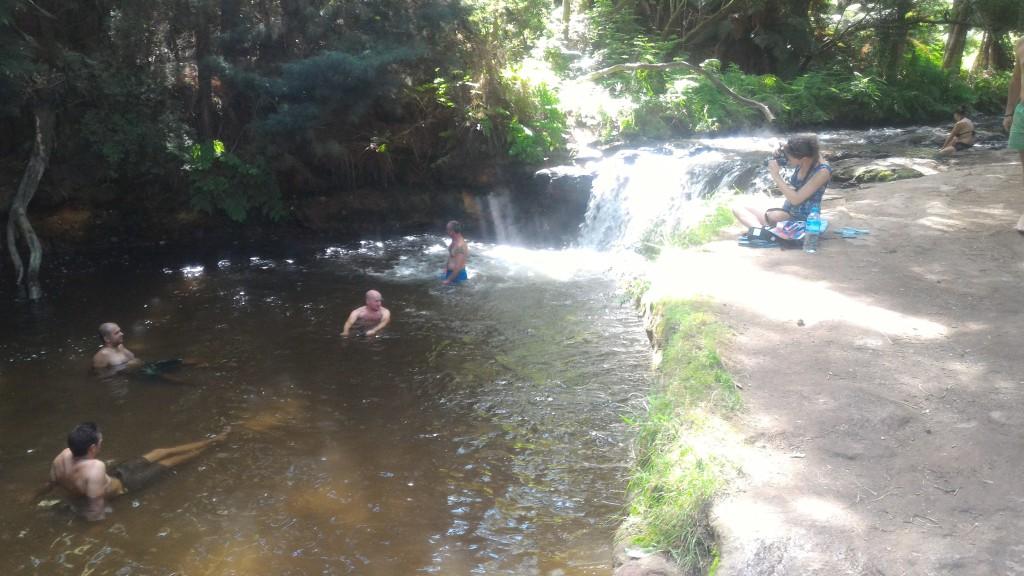 ロトルア無料天然温泉