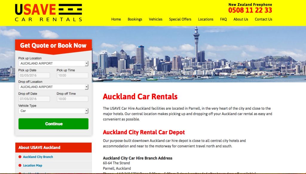 ニュージーランドレンタカー