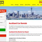 ニュージーランドでレンタカーを借りてみよう!