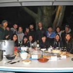 インターナショナルな仕事仲間と母国の料理を作ってpartyをした
