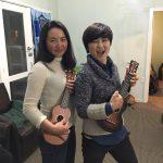 ukulele初心者の私が、台湾人の友達にukuleleをプレゼントされた!笑
