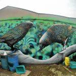 ニュージーランドのトップストリートアーティストがタウポに集結?早速拝見してきた。