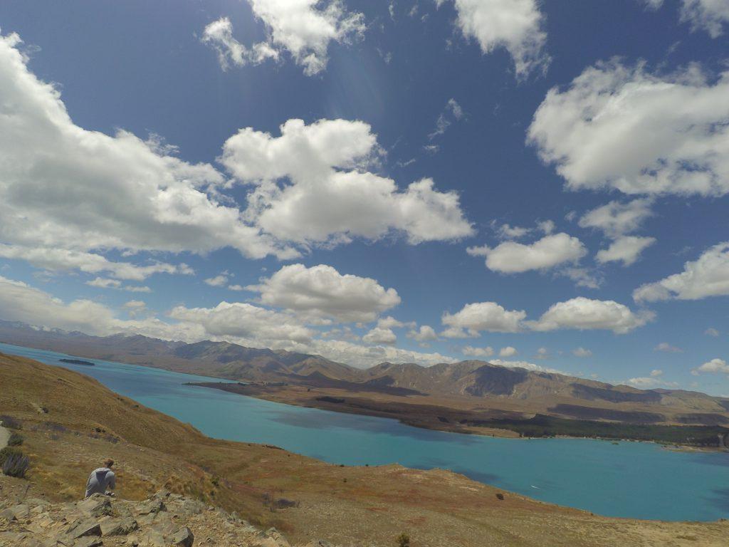 テカポ湖ハイキング