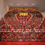 長野県須坂市で行われている、30段飾り千体の雛人形を見物してきた。