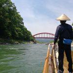 天竜川の自然を満喫!水しぶきのかかる豪快コースで舟下りをしてきた