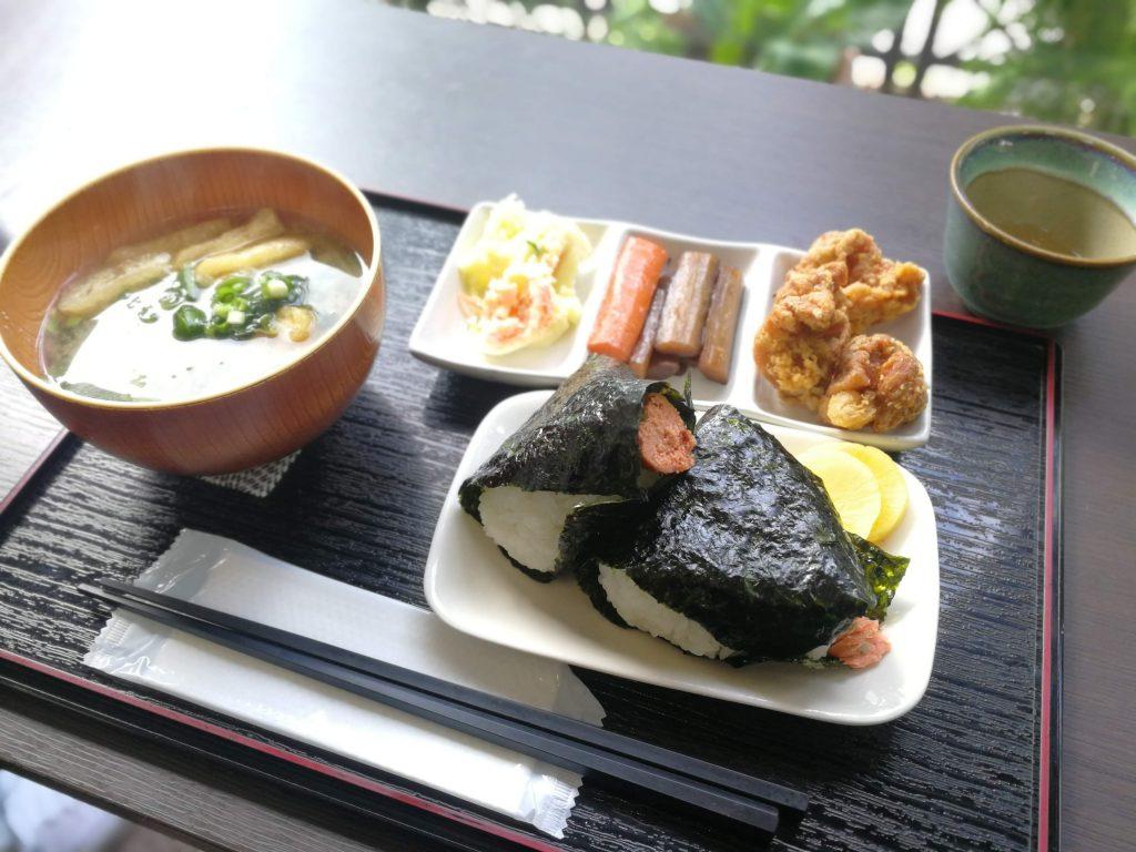 善光寺周辺朝食